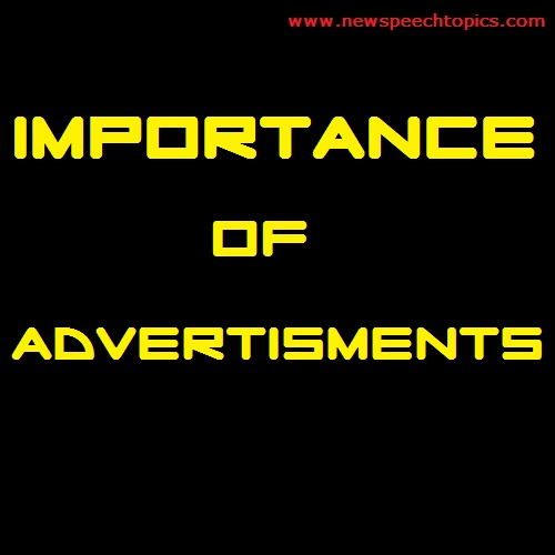 Importance of Advertisments