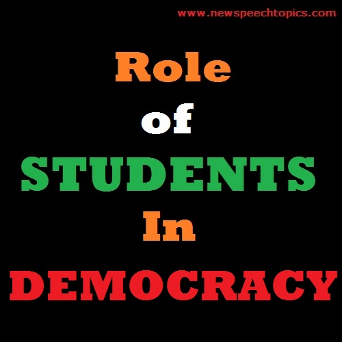 Essay Writing Topics Role of Students in Democracy