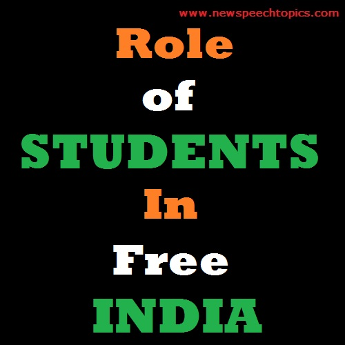 Role of Students in Free India