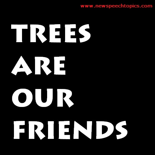 trees our friends essay for kids