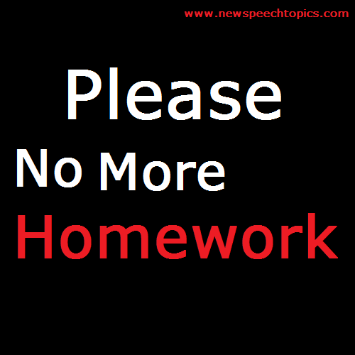 Kids Should Have Less Homework