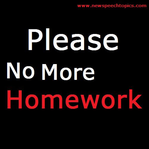 Persuasive Writing About Homework