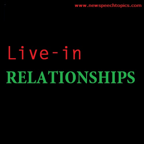Essay writing topics on Live- in Relationships
