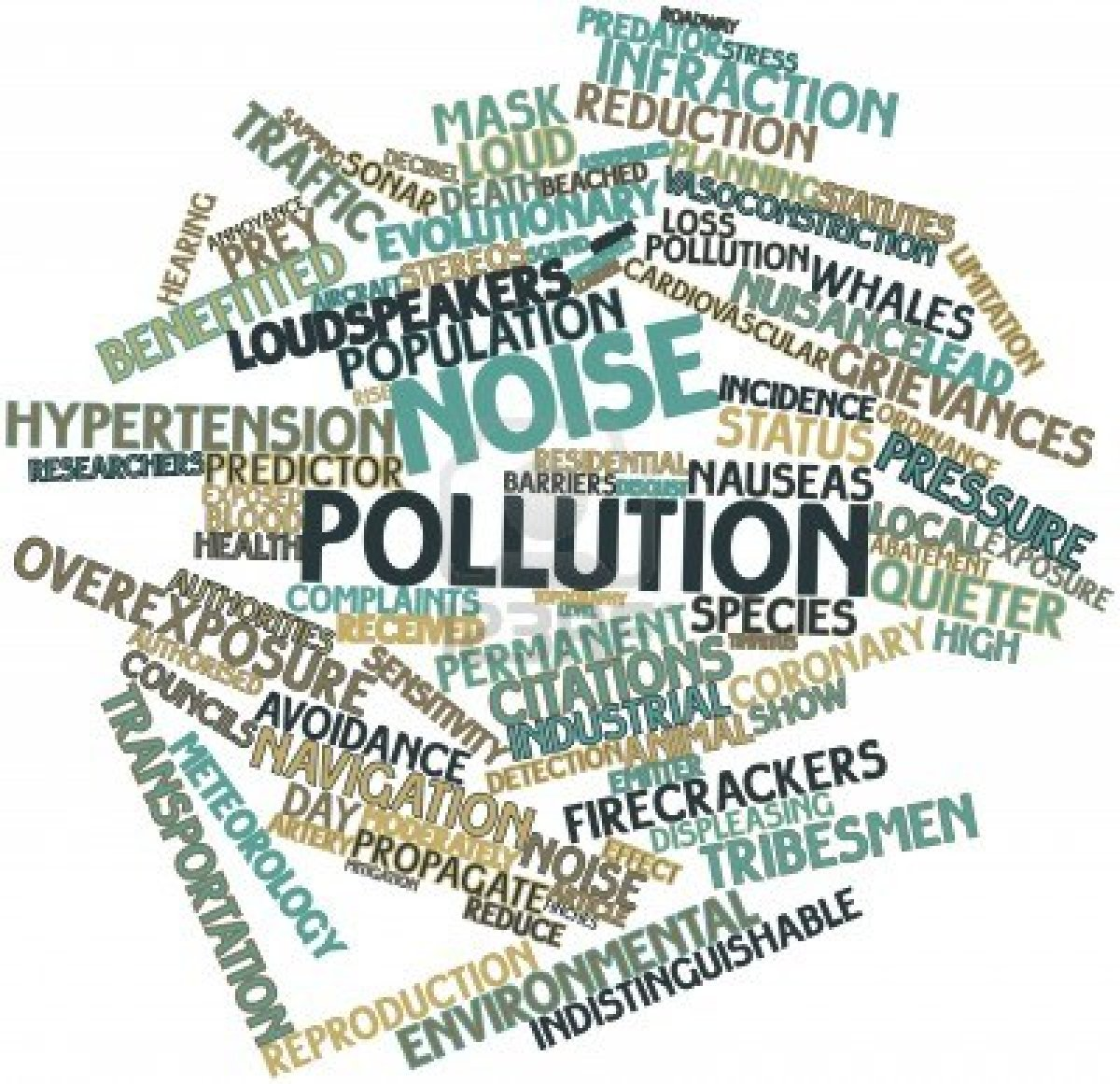 noise pollution essays Noise has numerous health effects making noise pollution a public concern although it has not been well addressedthese could be effected our blood pressure, noise -induced hearing loss,sleep disorders and irritabilitynoise pollution also affects the performance at work and school.