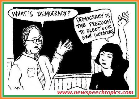 essay on democracy in india